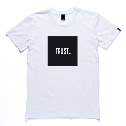 Trust Box Logo T-Shirt (White)