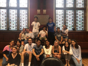Caitlyn and Friends in the Oxford Union