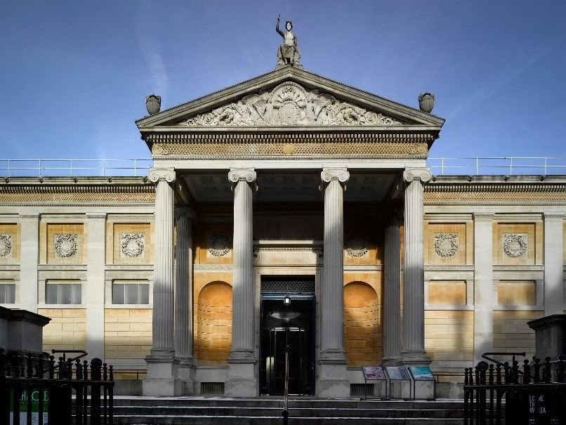 The Ashmolean Museum in Oxford