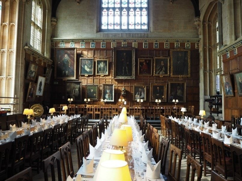 Harry Potter was filmed in the equally magical Oxford University