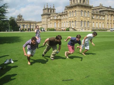 Student on a trip to Blenheim Palace last year
