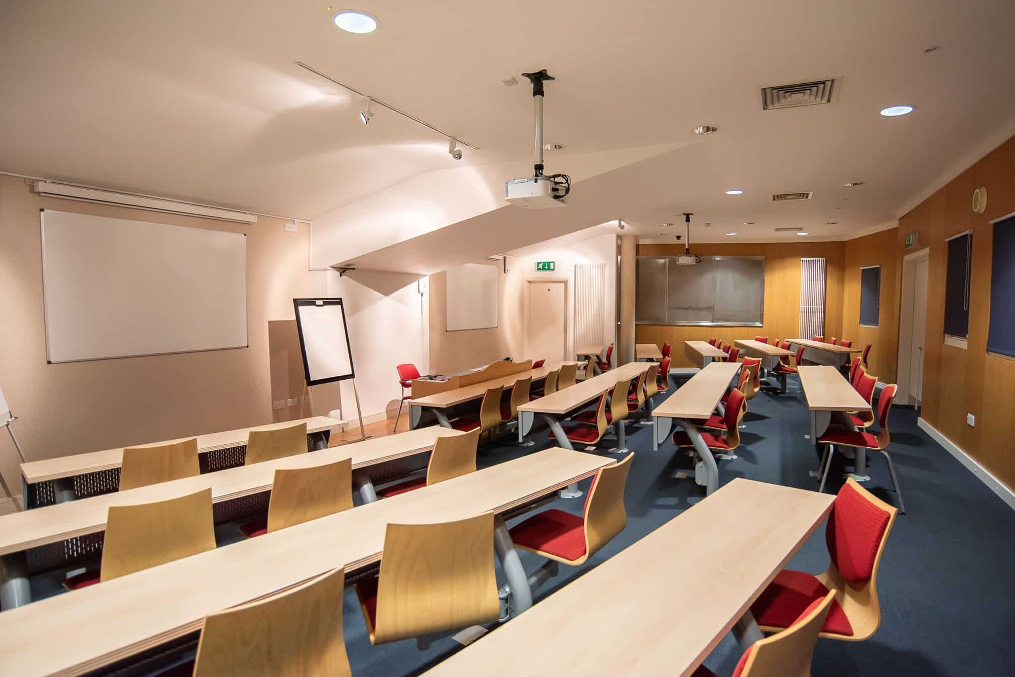 Lecture Theatre at Lincoln College, University of Oxford