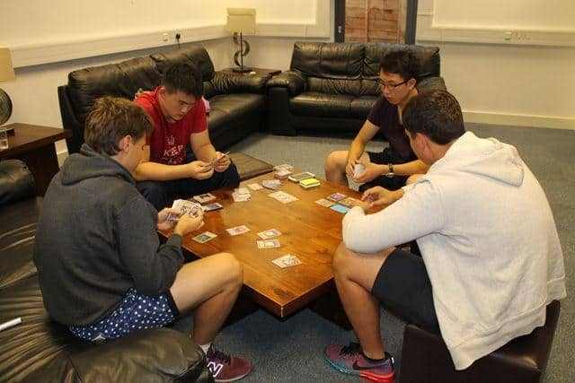 Student enjoying leisure time at our Oxford Summer School