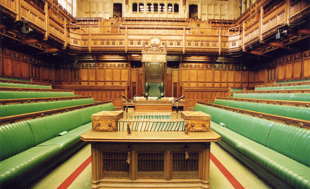 The House of Commons in London, UK, near Oxford