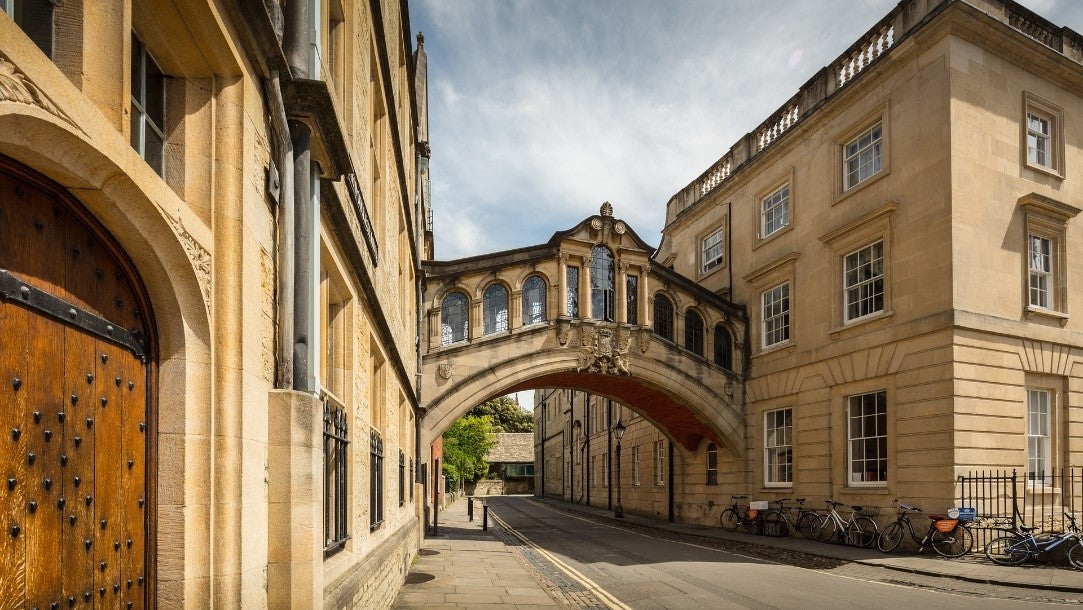 Historic buildings that form part of the University of Oxford