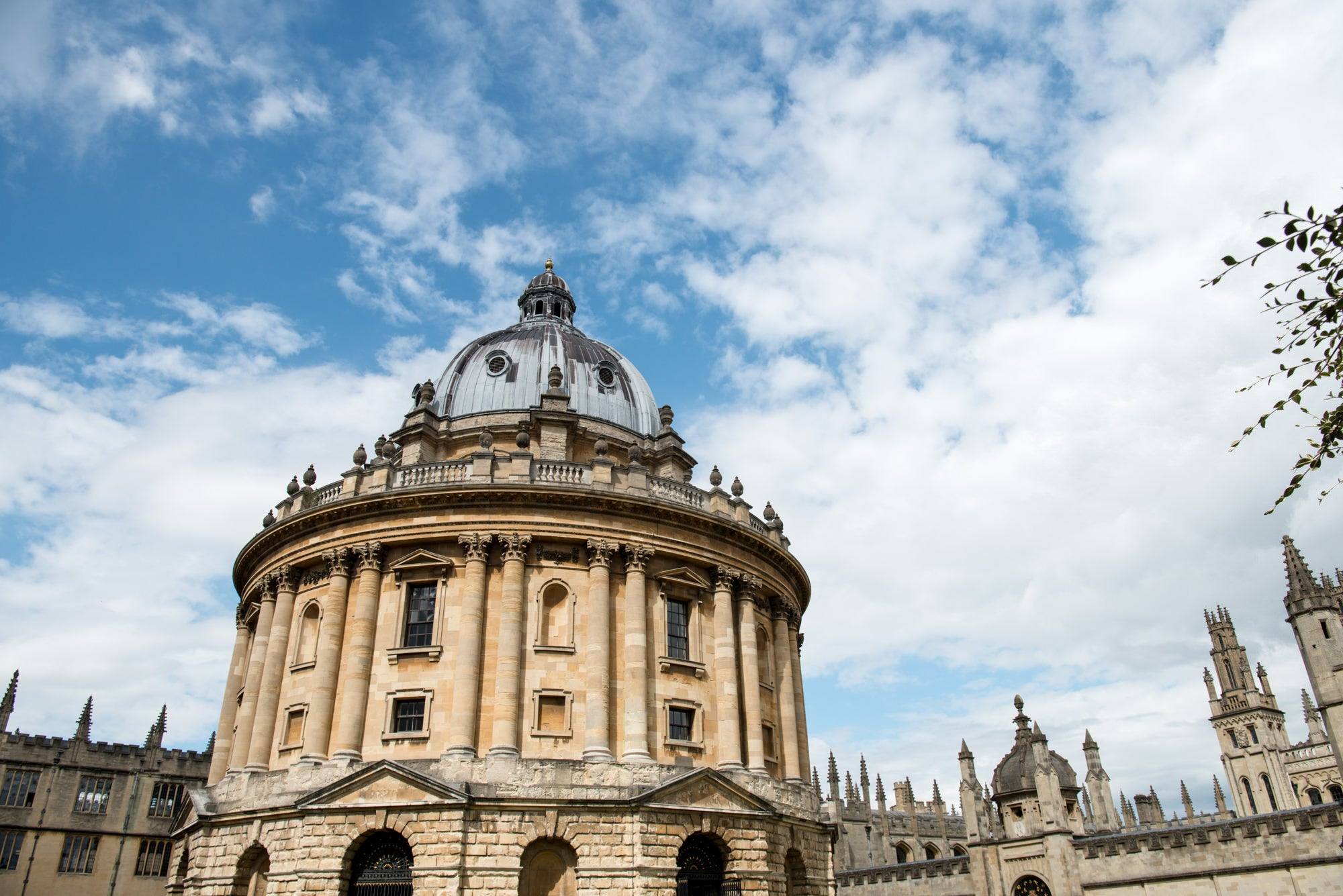 The Oxford University skyline