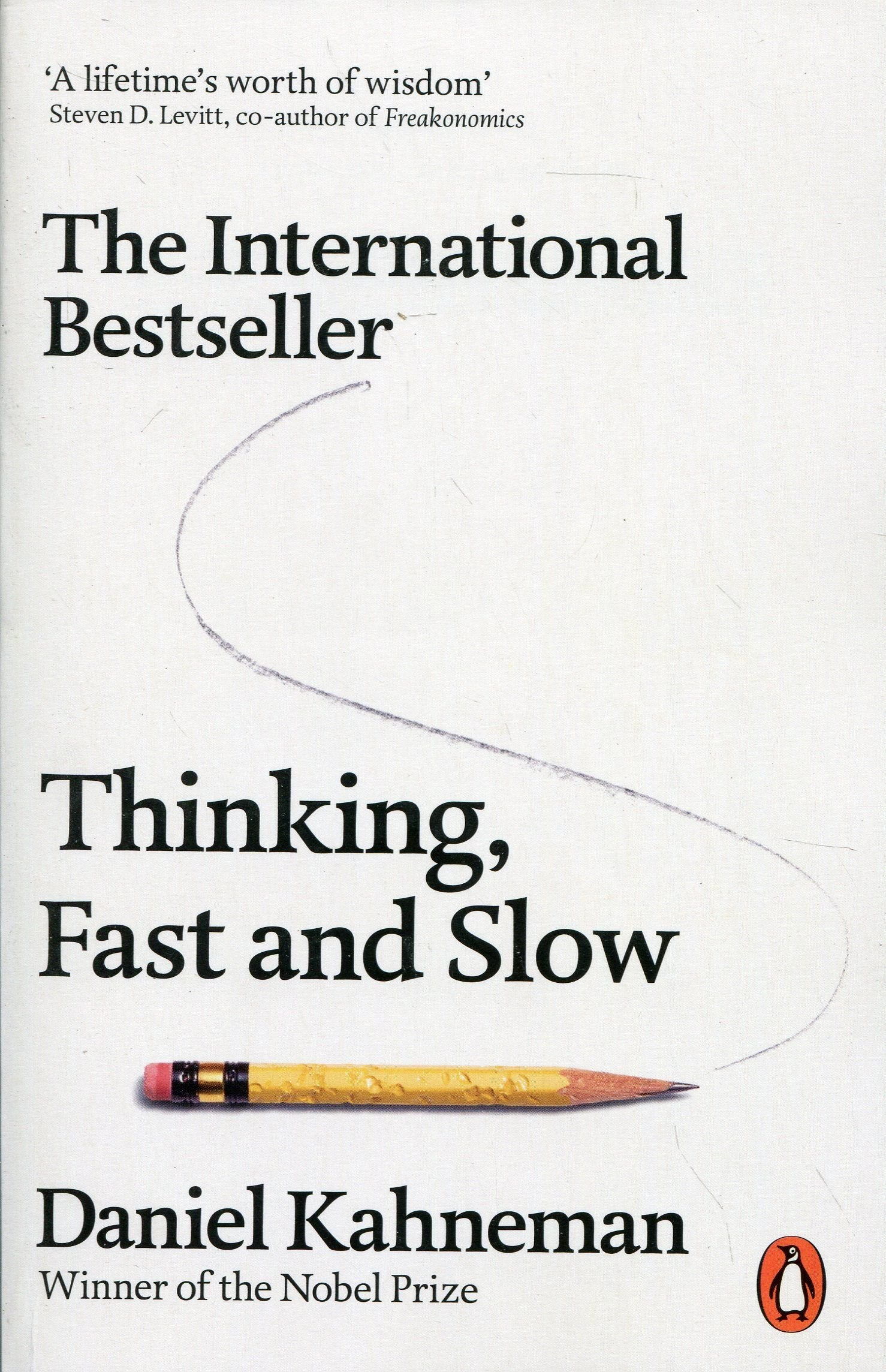 Thinking, fast and slow - a book on the reading list for students on our Psychology course at our summer school in Oxford