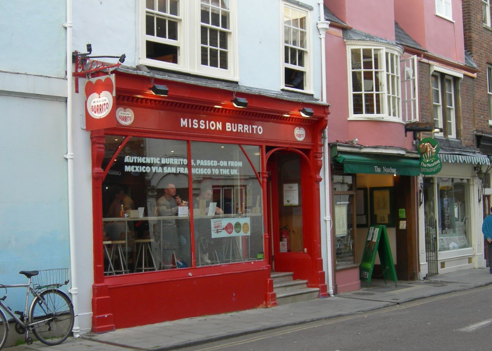 Mission Burrito cafe in Oxford