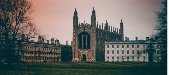 King's College is part of Cambridge University