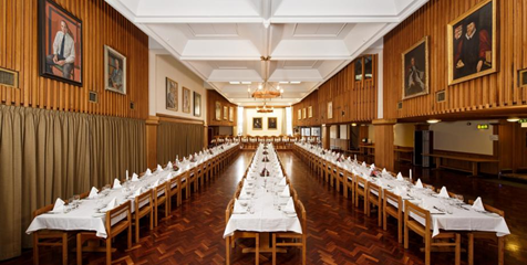 The Oxbridge college dining experience