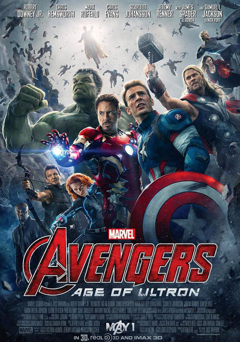 Avengers age of ultron poster, temporary tattoos