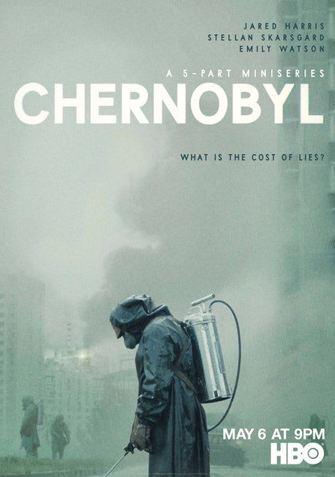 chernobyl tv show poster temporary tattoos radiation burns make up
