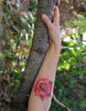 Watercolour Rose Tattoo