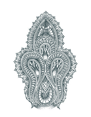Mehndi Ornament (Large)