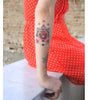 anchor and rose with stars tattoo, anchor and rose with stars temporary tattoo