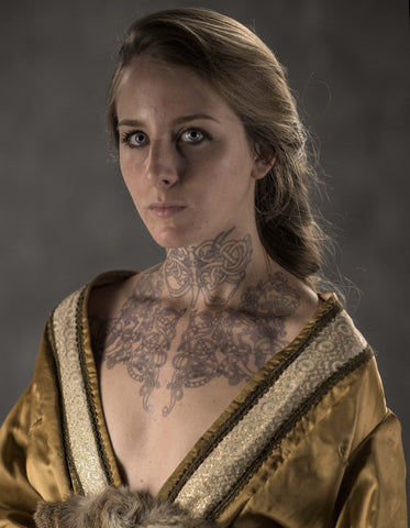 Astrid Vikings Tv Series Original Tattoo Set