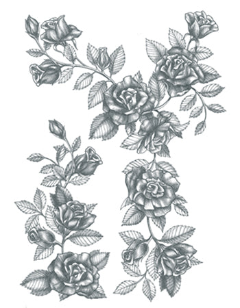 Black Roses (Arm/Shoulder/Leg piece)