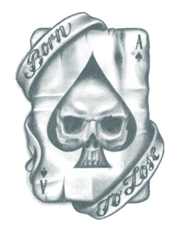 Born to Lose/ Ace Card Tattoo
