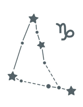 Capricorn Sign Constellation Stars