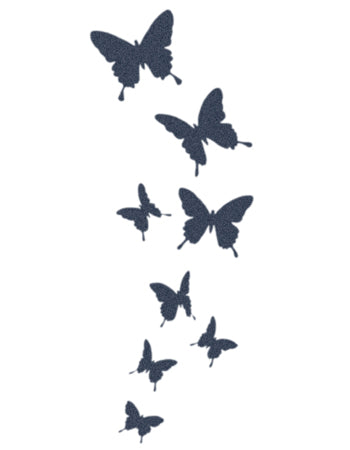 Flying Butterflies