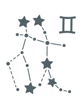 Gemini Astrological Sign Star Constellation