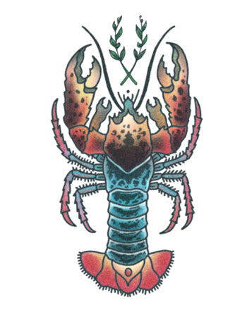 Lobster Tattoo