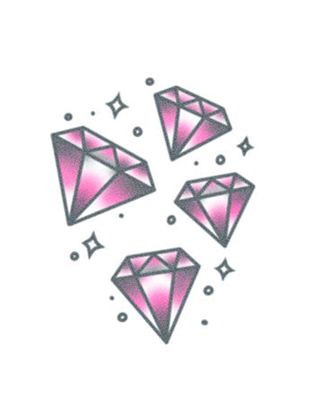 Pink Lucky Diamonds