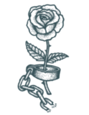 Prison Rose Tattoo