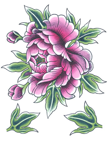 Purple Peony Flower C (Big)