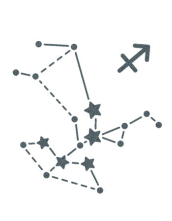 Sagittarius Sign Constellation Stars