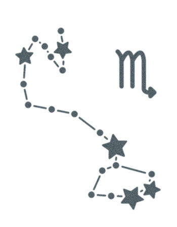 Scorpio Sign Constellation Stars