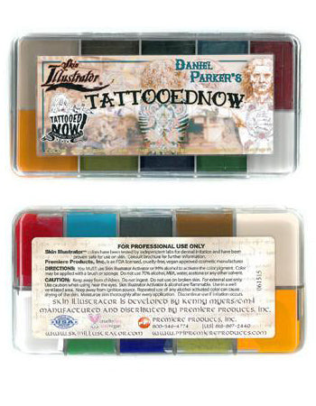 TattooedNow! Skin illustrator palette