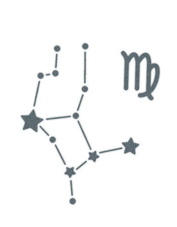 Virgo Sign Constellation Stars – TattooedNow! Ltd.