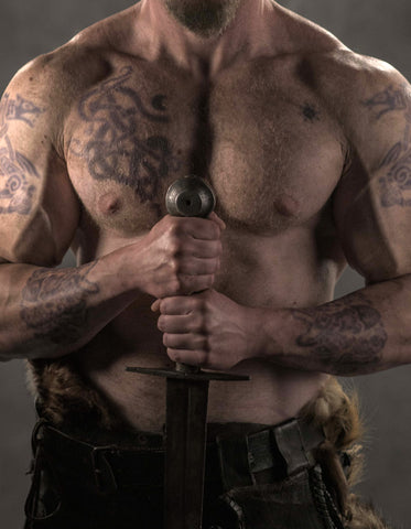 Rollo Tattoo Set -Vikings Tv Series