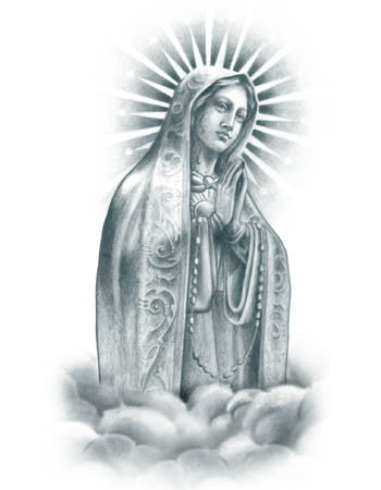 Praying Virgin Mary