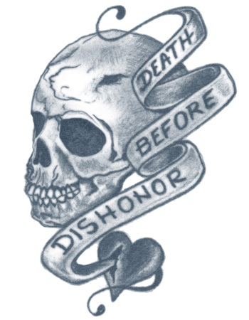 Death Before Dishonor Tattoo