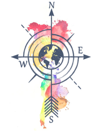 Watercolour Compass