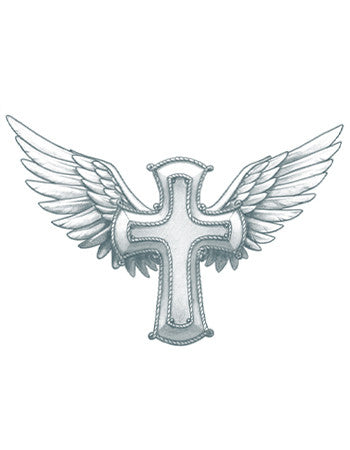 Winged Cross (Small)