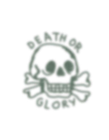 Death or Glory Skull