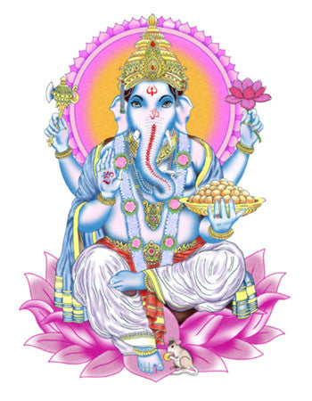 Ganesha temporary tattoo
