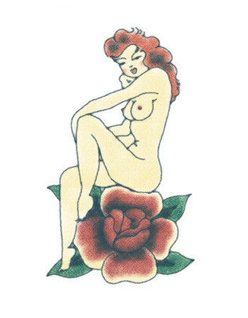 Red (Pin-up Girl Tattoo)
