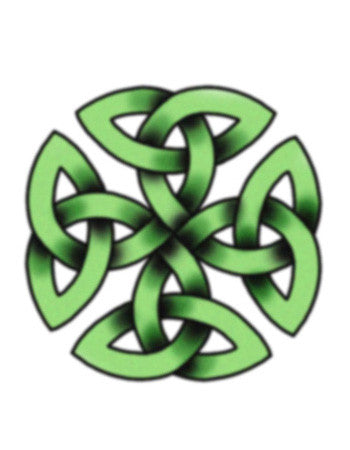 Celtic Green Knot 1