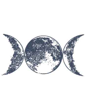 Triple Moon Tattoo