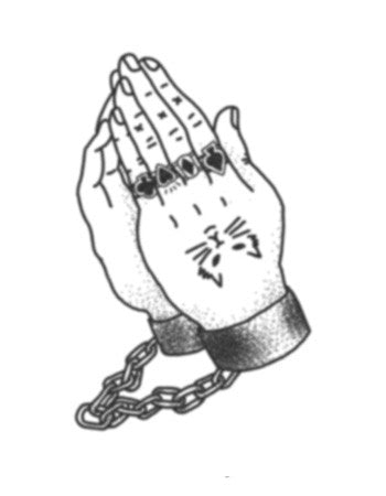 The Thief's Praying Hands