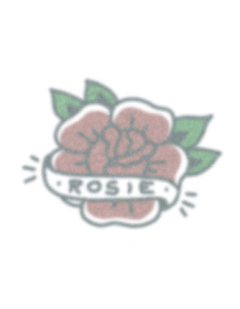 rose temporary tattoo