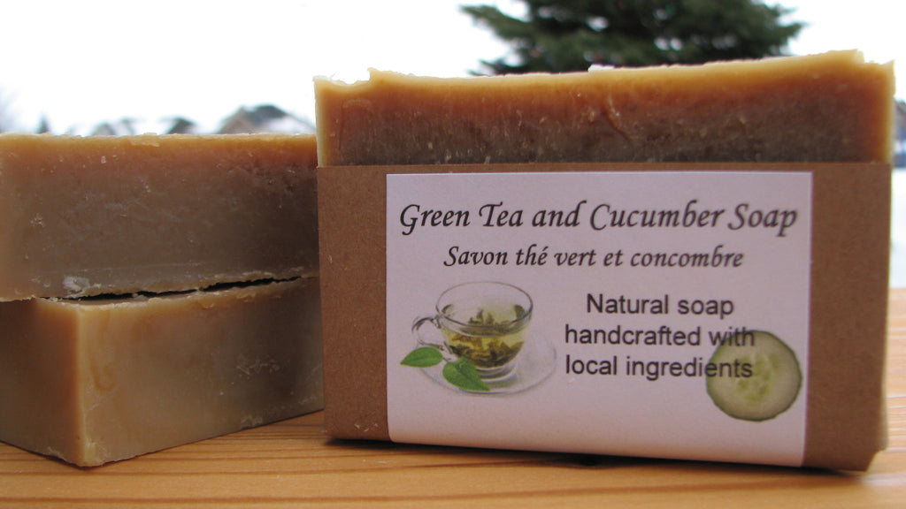 Green Tea and Cucumber Soap