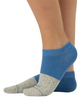 Cette 2 TONE Fashion Cotton Socks (European Sporty Fashion) 225-12