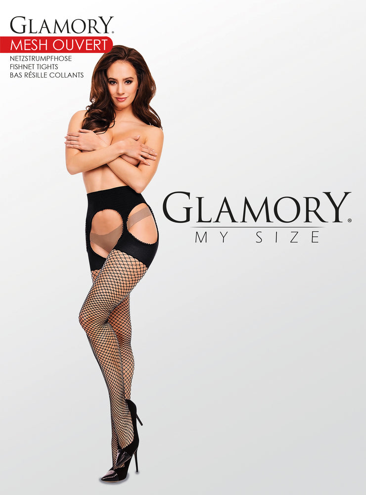 Glamory MESH OUVERT Tight Plus Size (Fishnet Glamor)50353