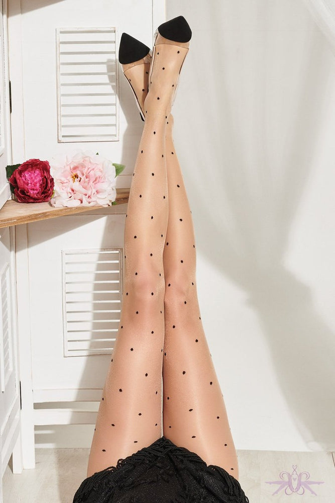 Trasparenze ANGURIA Pantyhose/Tights (Polka Dot Fashion Classic)