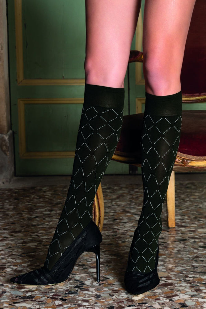 Trasparenze BASILISCO Gambaletto  Knee Highs (Classic & Chic)